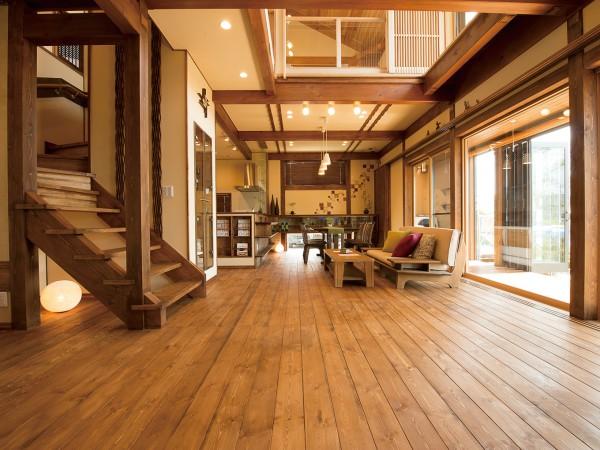 地域の工務店だからこそできる比類なき自然素材の家