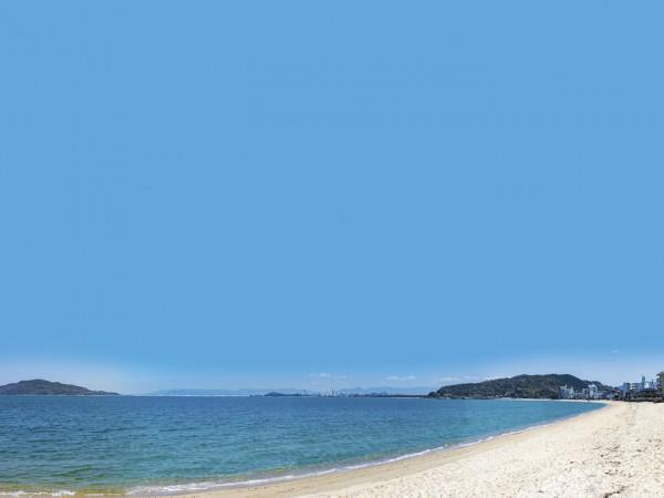 TIMELESS OCEAN すぐそばに青い空と青い海。