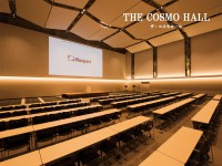 アレンジ自在な大ホールで 記憶に残るイベントを、 無駄なくスムーズに開催