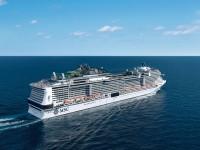 新造船MSCグランディオーサで航く地中海4ヶ国周遊クルーズ10日間の旅(関西空港発着 エミレーツ航空利用)