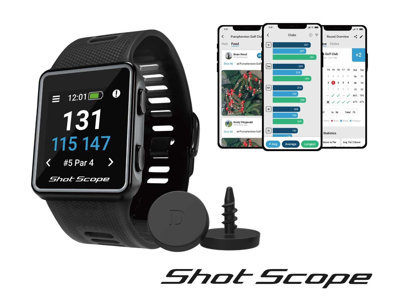 Shot Scope V3 時計型ゴルフGPS 2名様にプレゼント