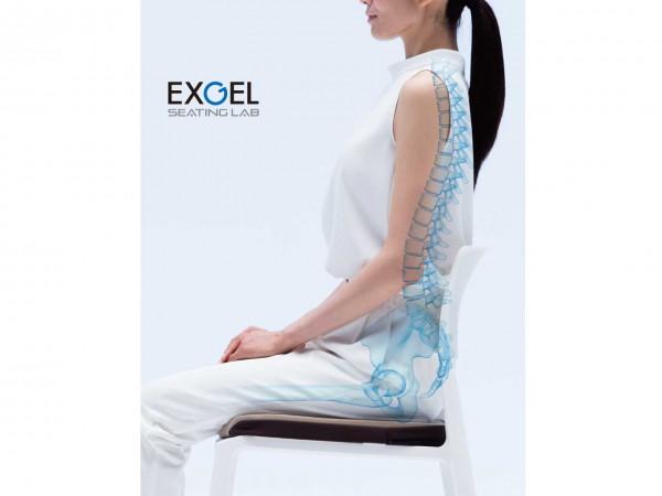 """座る時間の長い現代人に、理想的な""""座り""""を。"""