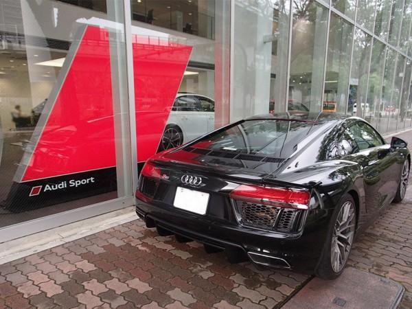パワーとエレガンスが融合したSUPER CAR。新ブランドAudi Sportが名古屋に誕生