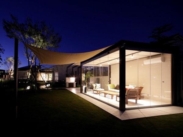 自宅の庭に自然を取りこむ、 ラグジュアリーな空間を。