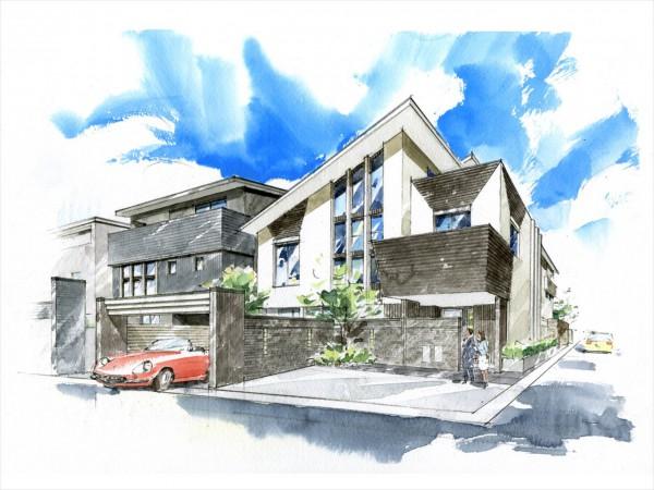 想像を遥かに越える、 高級分譲住宅の極みへ―。  業界人・同業者があこがれる家
