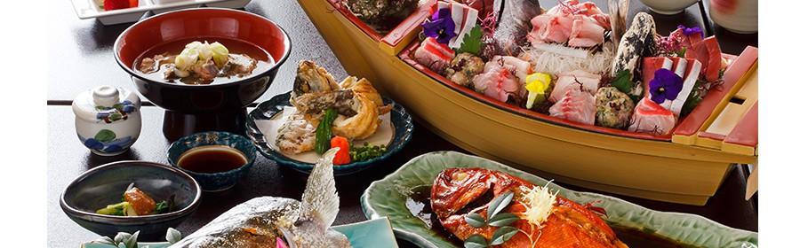 こみなと漁師料理  海の庭 一泊二食付 無料宿泊券【1組2名様】