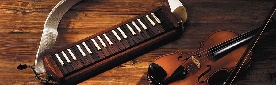 木製鍵盤ハーモニカ「W-37」(本体、マウスピース3種、ショルダーケース)【2名様】