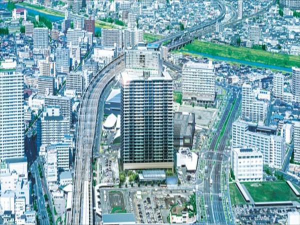 JR東北本線「長町」駅徒歩2分、仙台市地下鉄南北線「長町」駅徒歩3分、未来志向の街の新ランドマーク