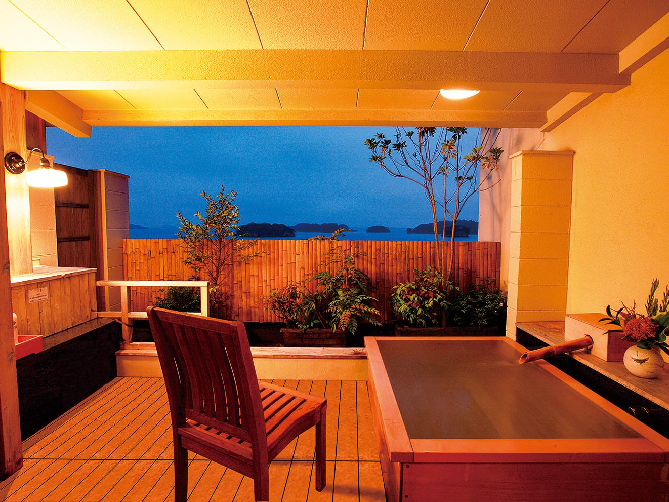 松島湾の景観を満喫! 露天風呂付き客室でリラックス 1泊朝食付 1組2名様