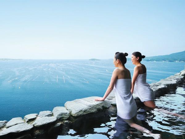 南三陸「インフィニティ温泉」の上質な非日常感を満喫
