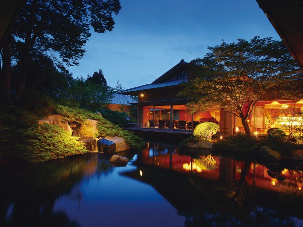 五感のすべてを使って味わう、秋保温泉の名宿。