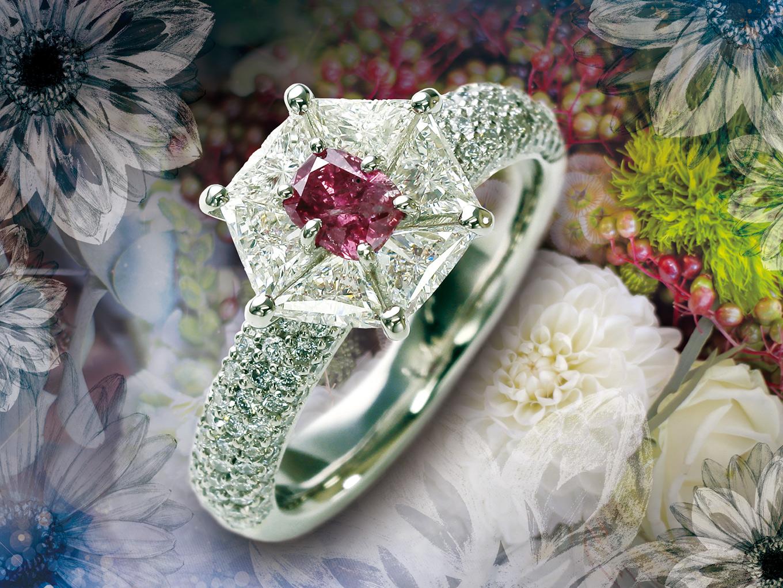 大人の女性を愛らしく彩る「ピンクダイヤ」の魅力