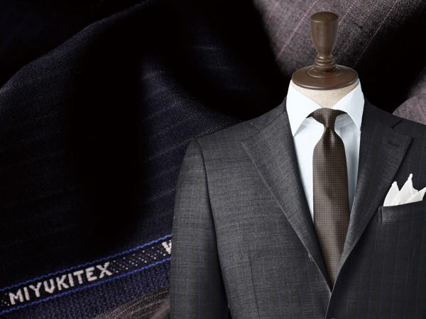 髙島屋のイージーメイドスーツを支える御幸毛織の技術