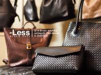 神戸のブランド「レスデザイン」が提案する、ワンアンドオンリーの革製鞄