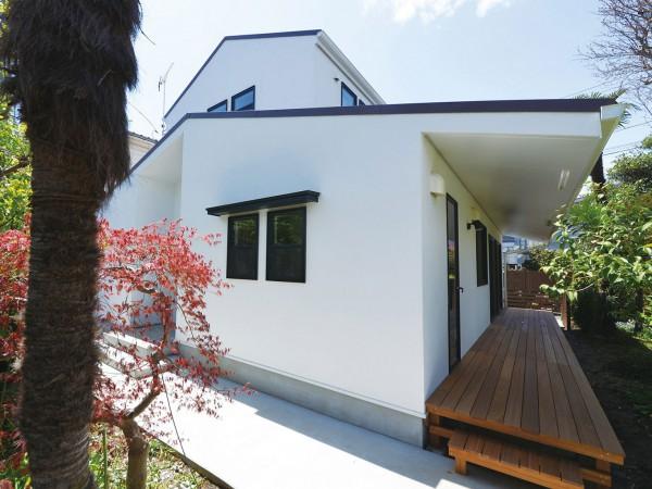 横浜市P's supply homesの「フラットハウス+」で実現する、素朴な美にあふれる家