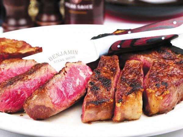 六本木・ベンジャミンステーキハウスで熟成肉を堪能