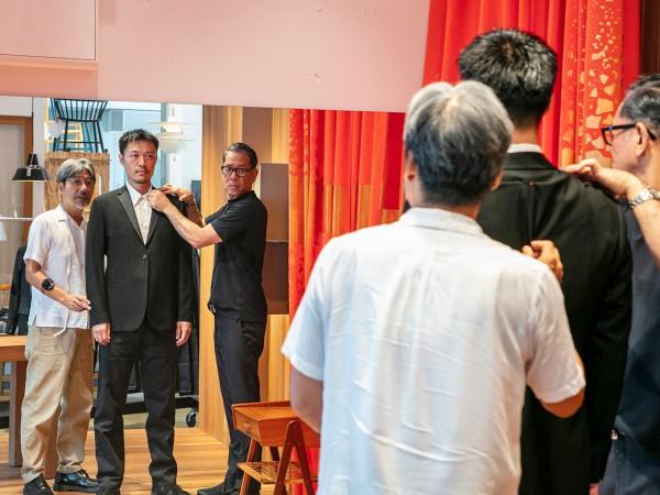 ナオキ タキザワが作る、服の力を実感する場所