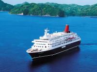 """にっぽん丸で沖縄へ。その別名は""""美味なる船""""。"""