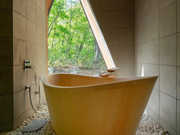 木曽の天然檜が自慢の浴室総合プランナー「檜創建」が専門ギャラリーを神保町にオープン
