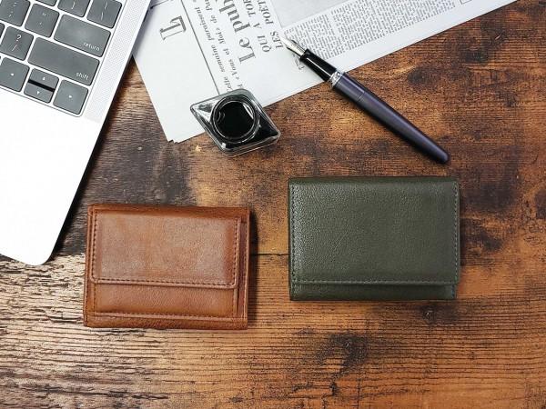 ドイツと日本のハイブリッド、ベッカーの高品質ミニ財布