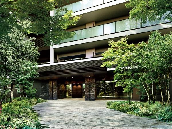 駅近ながら緑豊か。邸園レジデンス・バウス湘南台